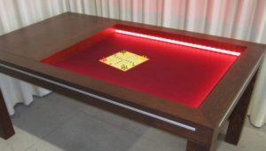 bordspeltafel als puzzel-speeltafel