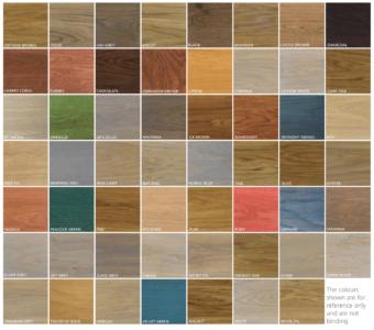 Monocoat kleuren