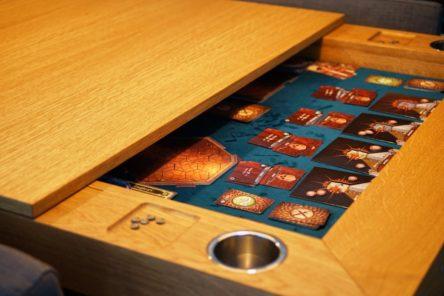 Bordspeltafel Enschede gedeeltelijk gesloten.