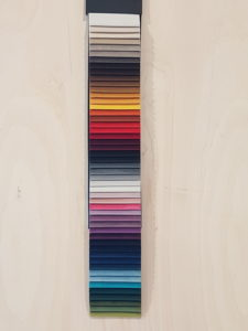 Alle kleuren Toppoint Isola fluweel