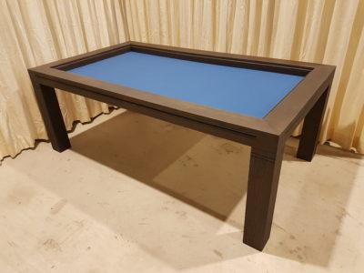 Grote bordspeltafel. 2100x1200mm